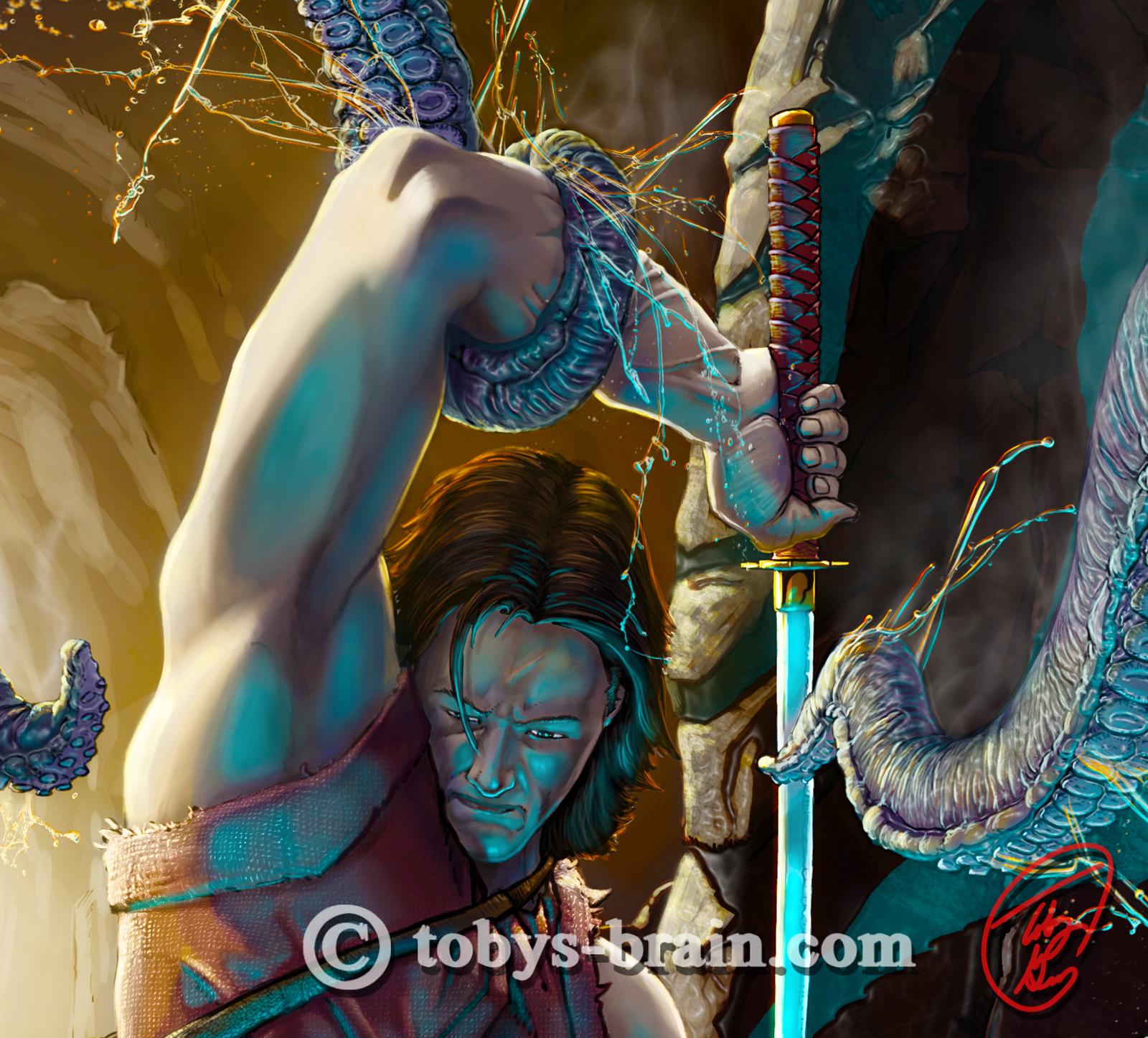 Toby Gray Ohrim-vs-the-cave-squid-zoom2-FW