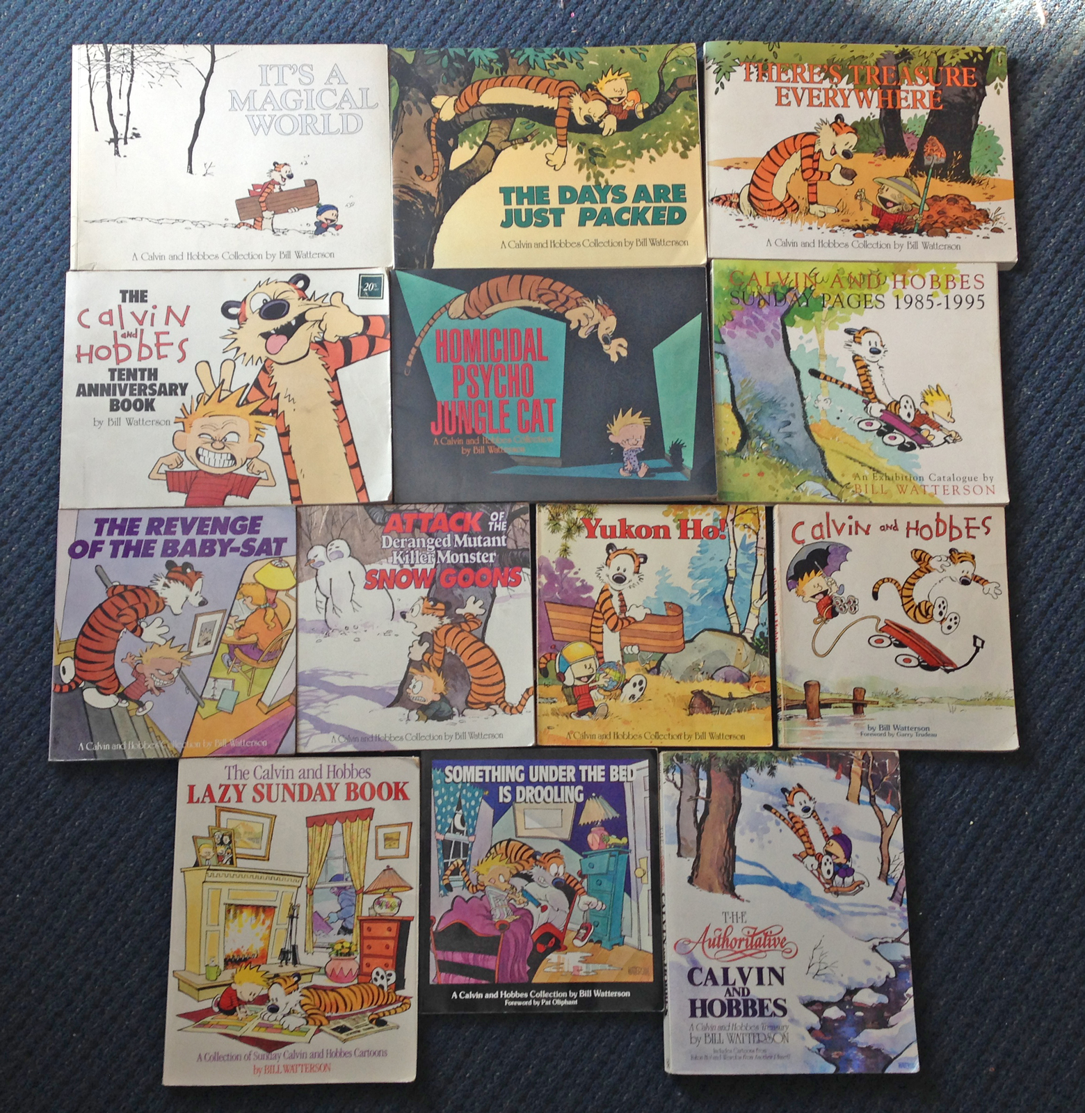 Studio Stuff/Influences: Bill Watterson's Calvin and Hobbes