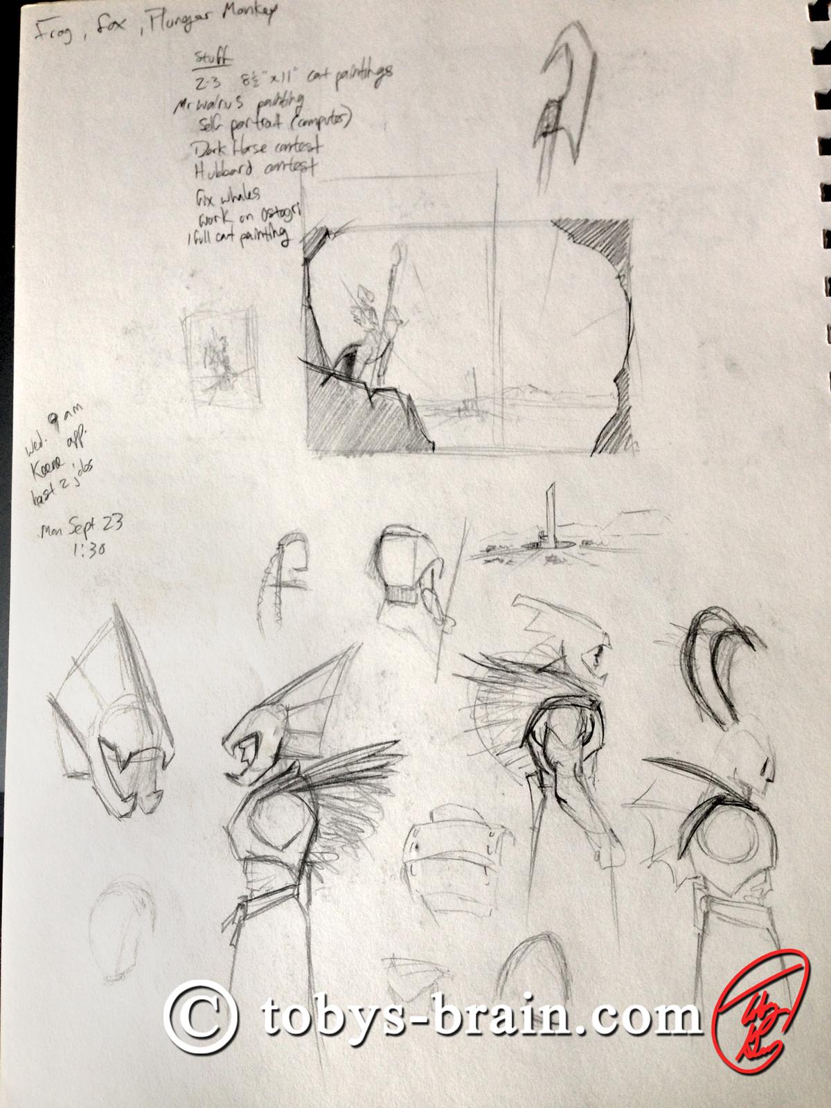 Toby-Gray-dragon-rider-sketch-2
