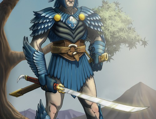 Blue Eagle Knight
