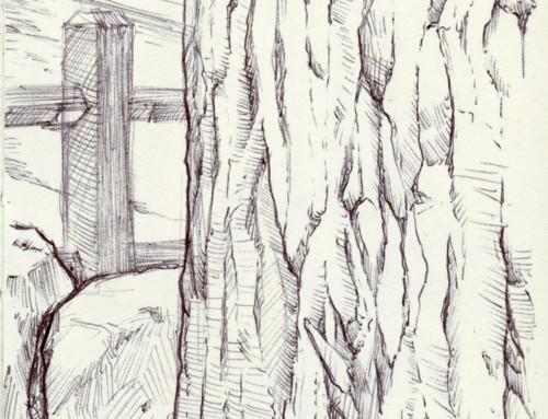 Moleskin Sketch Camp Hidden Valley 2019 #2