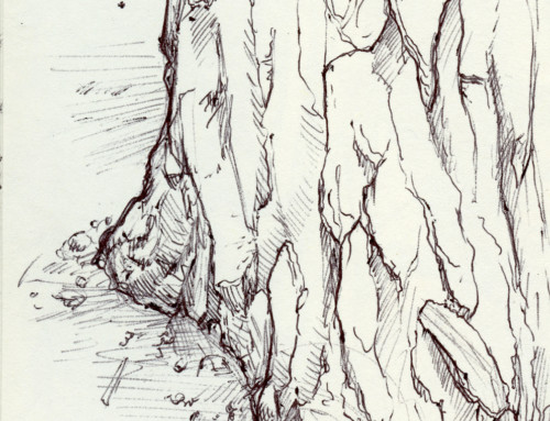 Moleskin Sketch Camp Hidden Valley 2019 #3