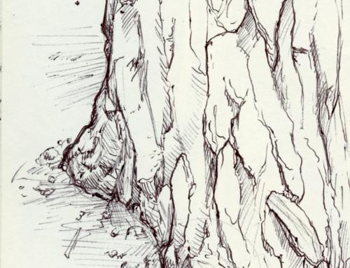 Moleskin Sketch Camp Hidden Valley 2019 #3