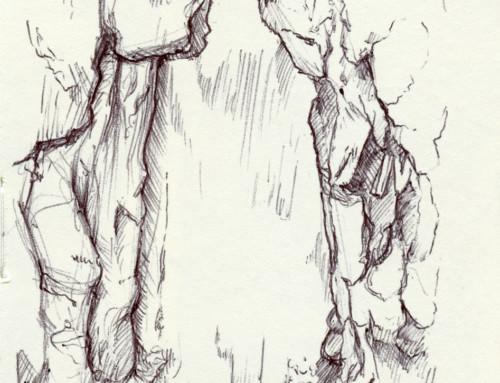 Moleskin Sketch Camp Hidden Valley 2019 #4