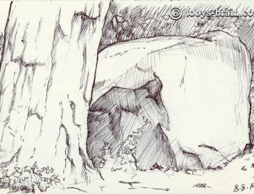 Moleskin Sketch Camp Hidden Valley 2019 #5