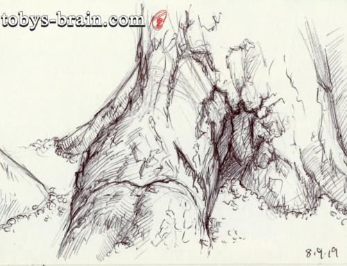 Moleskin Sketch Camp Hidden Valley 2019 #7