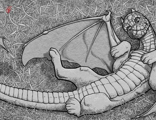Lee's Dragons: Cat Dragon