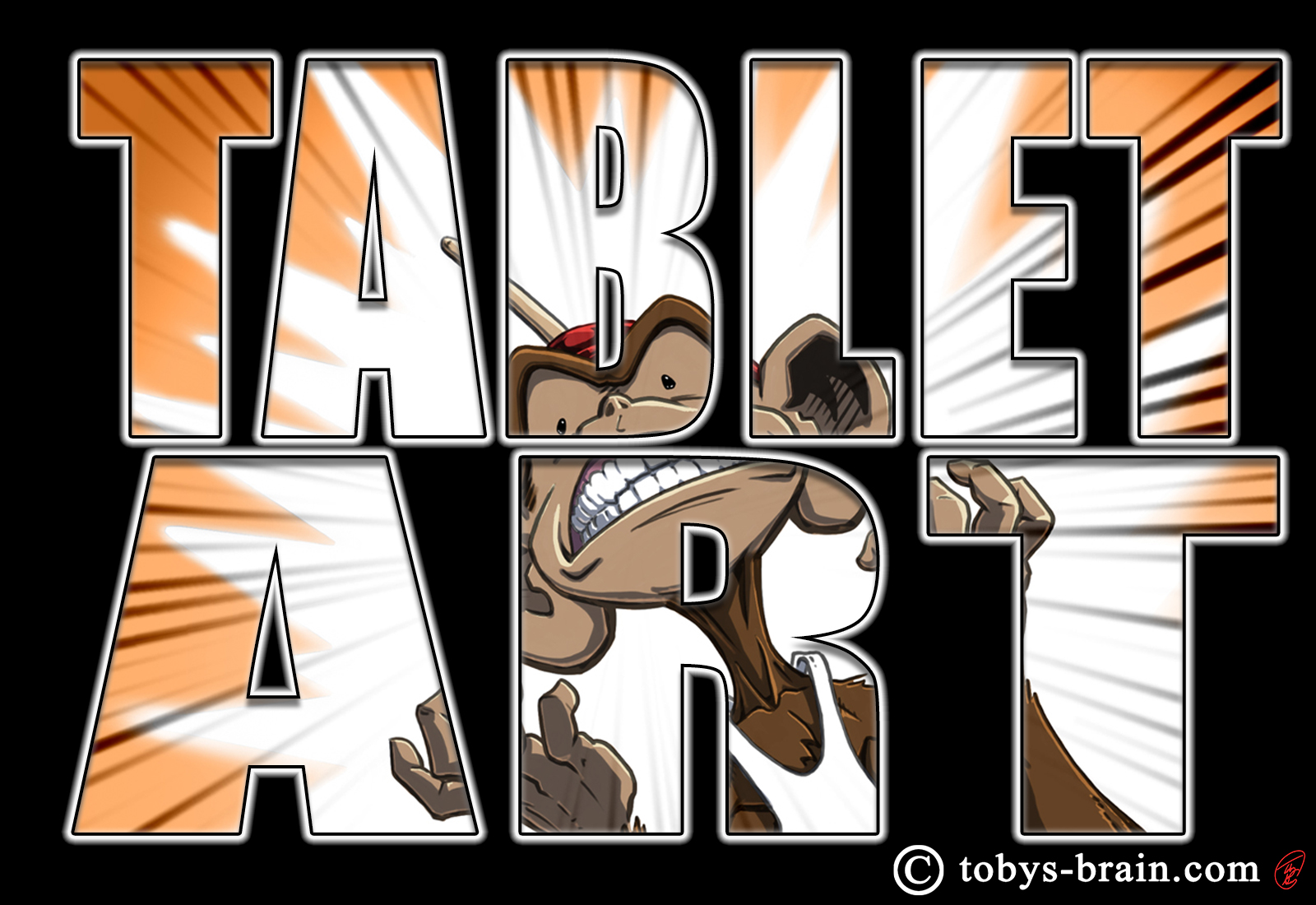 Tablet Art: Smile For The Camera
