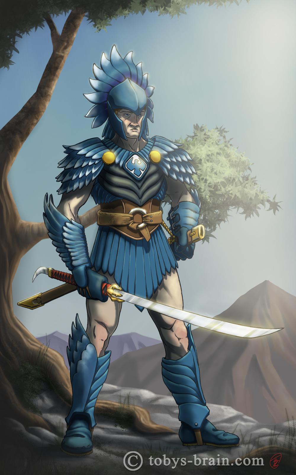 Blue Eagle Knight