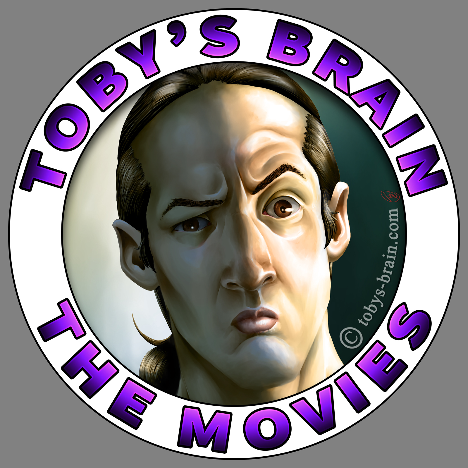 Toby's Brain the Movies Logo