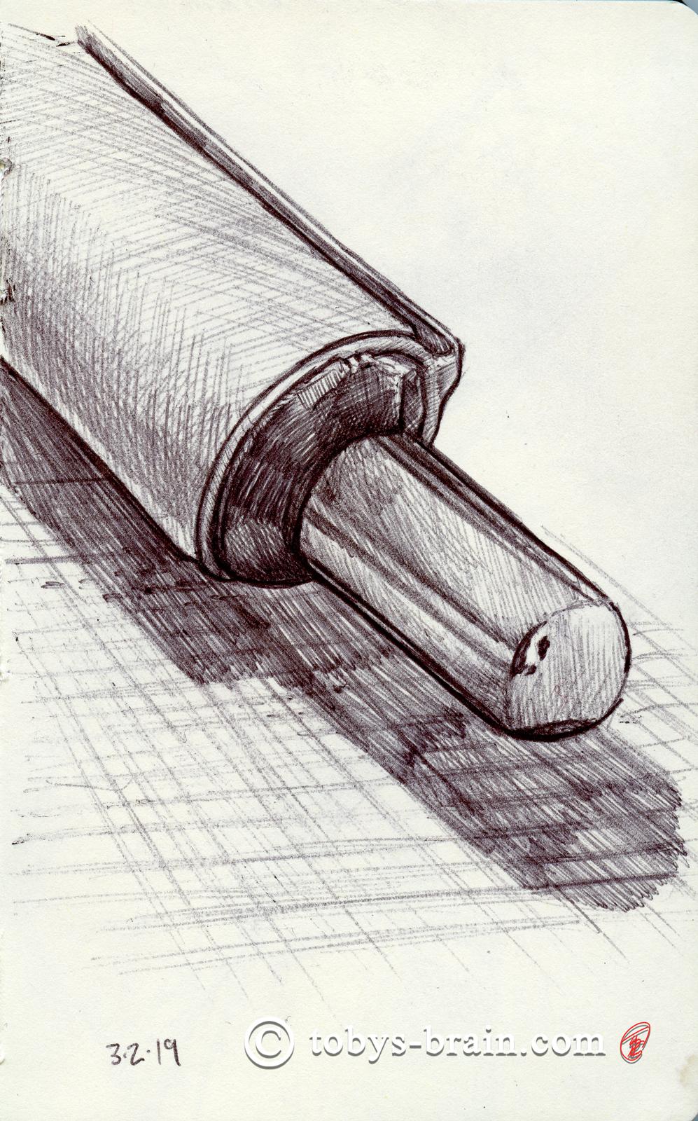 Moleskin Sketch: Pen