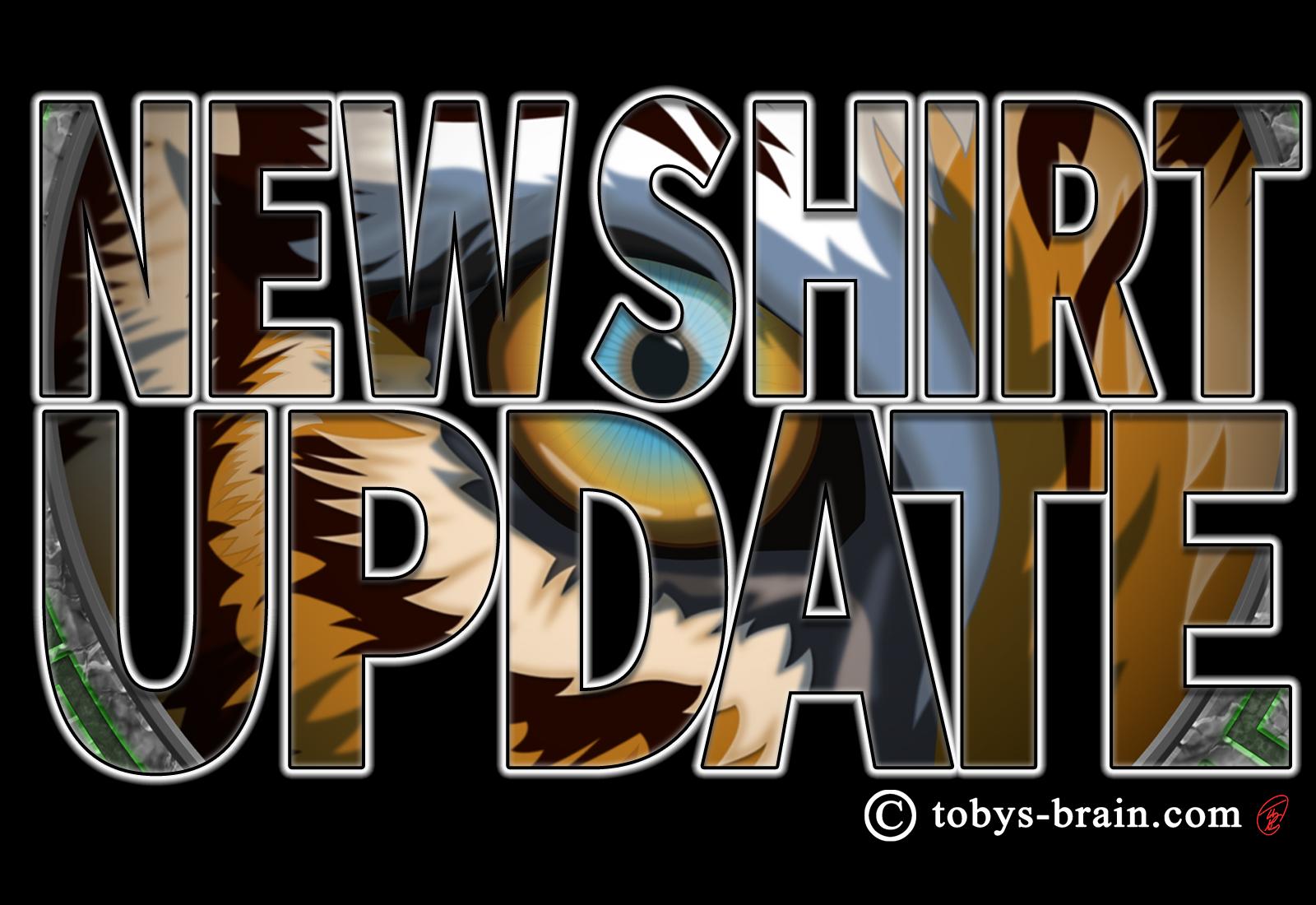 New Shirt Alert: Eye of the Tiger 2.0