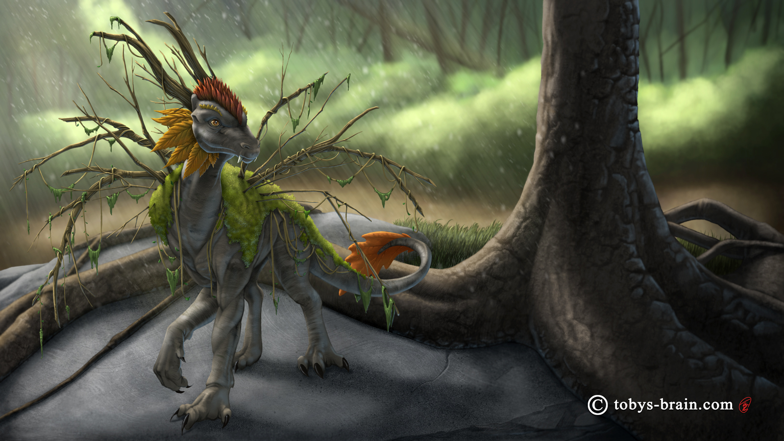 Lee's Dragons: Forest Dragon