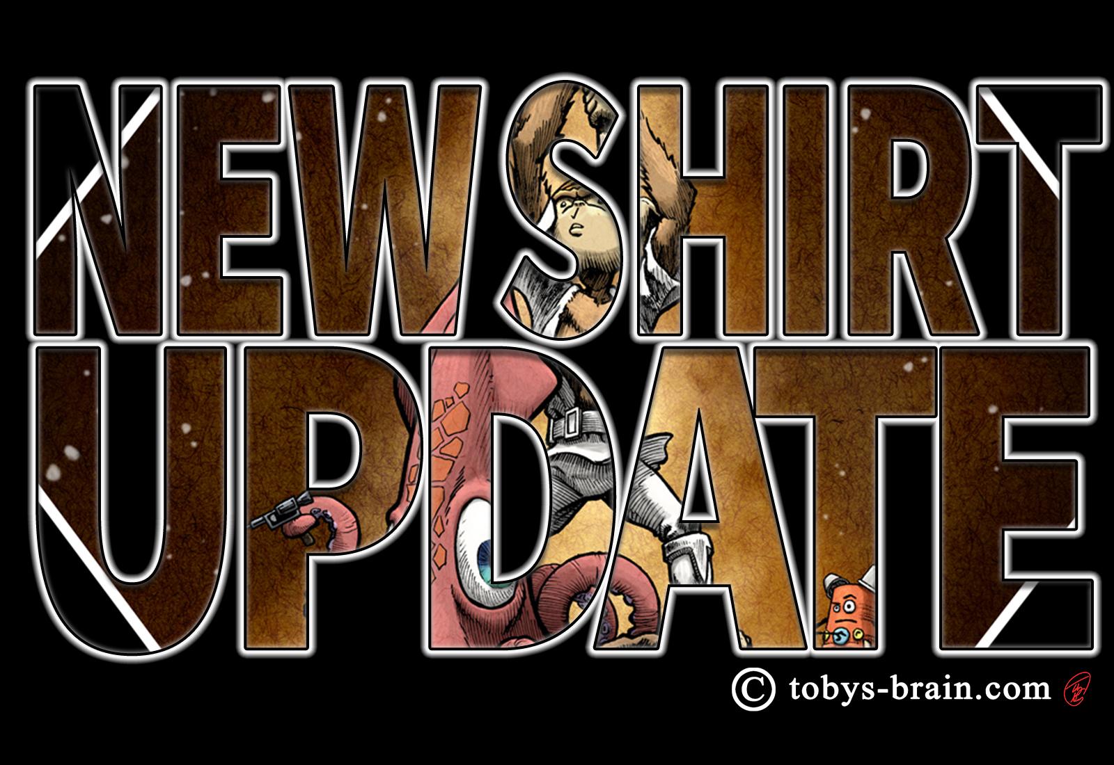 New Shirt Alert: A New…Plunger?