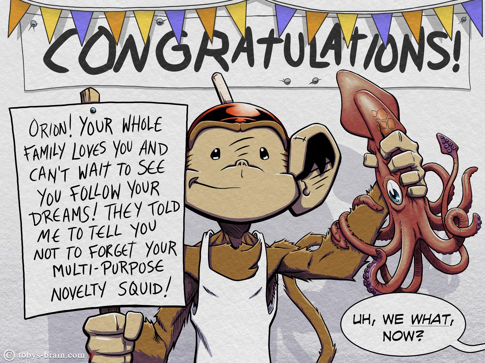 Congratulations Orion!